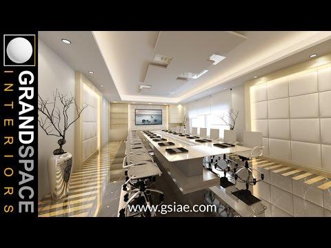 Interior Design of Luxurious Corporate Offices in UAE & Dubai 01