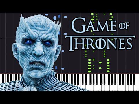The Night King - Game of Thrones [Piano Tutorial] (Synthesia) // Akmigone thumbnail