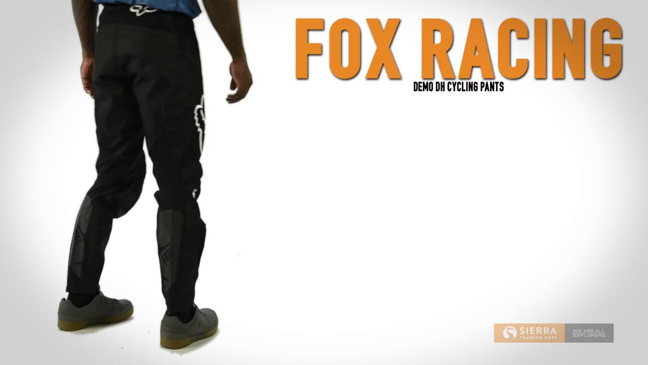 Fox Racing Demo DH Mountain Bike Pants (For Men) - YouTube 6053e5ec9
