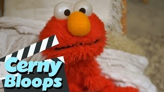 ELMO NIGHT TICKLES  - CERNY BLOOPS