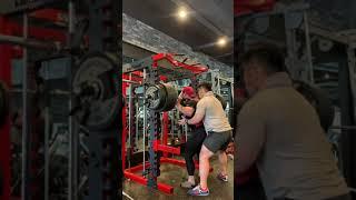 스쿼트 240kg (송파헬스 락바디짐 스트롱맨 동준쌤)