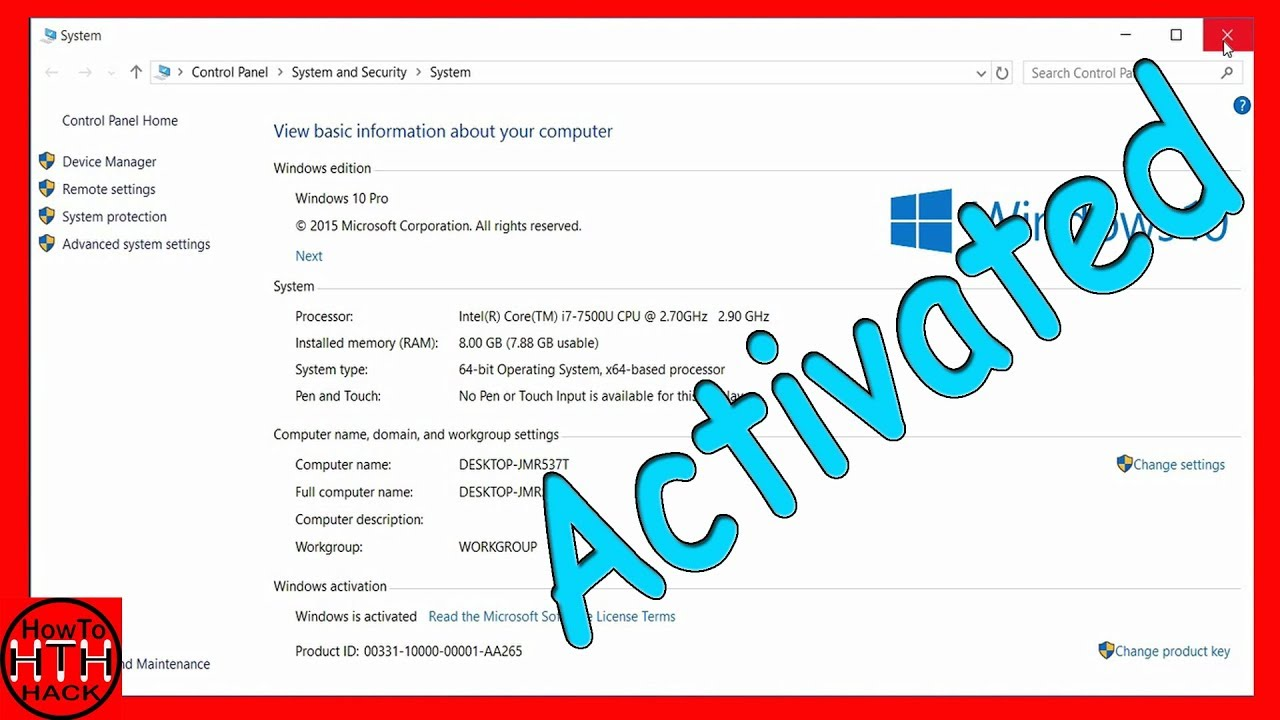 How to activate windows 108817 all version howtohack youtube how to activate windows 108817 all version howtohack ccuart Choice Image