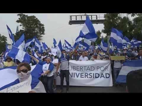 Ongoing protests in Nicaragua stoke fears of civil war