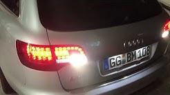 Audi A6 4f Blinker Rücklicht Und Rückfahrlicht Defekt