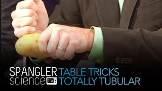 Table Tricks Totally Tubular - Cool Science Experiment