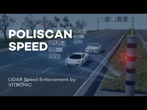 VITRONIC - POLISCAN SPEED - LIDAR Speed Enforcement
