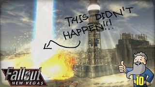 """Fallout New Vegas Gameplay Walkthrough Part 10 - """"BROKE ASS LASER!!!"""" 1080p HD"""