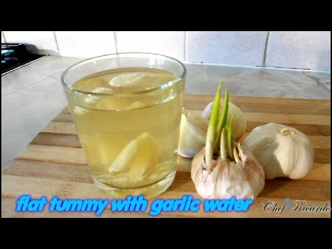 Flat Tummy With Garlic Water ( LOSE BELLY FAT IN A WEEK )