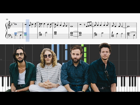 Dawes - A Little Bit Of Everything - Piano Tutorial