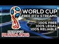 WATCH EVERY WORLD CUP GAME ON ANDROID! 100% FREE, 100% LEGAL & 100% RELIABLE! 100% NO BUFFERING!