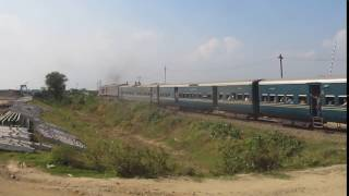 Chottola Express Entering Akhaura Junction