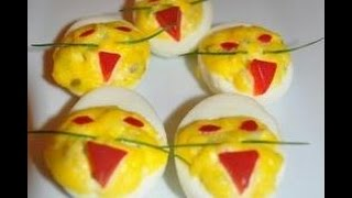 Deviled Eggs Halloween Party Ideas - RECIPE Thumbnail