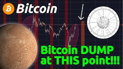 BITCOIN DUMP AT THIS EXACT POINT!!! USING ASTROLOGY TO FORECAST PRICE OF BITCOIN (W.D. GANN)
