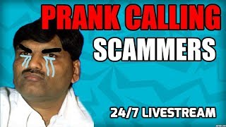 🔴 Prank Calling Scammers 24/7 LIVESTREAM thumbnail