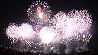 2015 土浦の花火 大会提供ワイドスターマイン 「土浦花火づくし」 TSUCHIURA  WIDE STARMINE