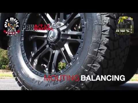 Tire Mounting & Balancing - Pitbull PBX A/T
