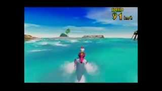 Wave Race 64 (N64) - Ride the Dolphin!