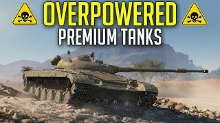 Playing With Overpowered Premium Tanks ► World of Tanks Best Premium Tanks
