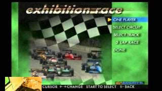Lets Play Andretti Racing For The Sega Saturn - Classic Retro Game Room