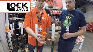 LockJawz - Electric Fence T-Post Insulator - National Farm Machinery Show