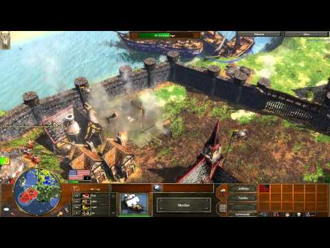 """Age of Empires 3 - Last Stand of the Boneguard - Act 3 """"Steel"""" Mission 8 - Let's Play - Hard"""