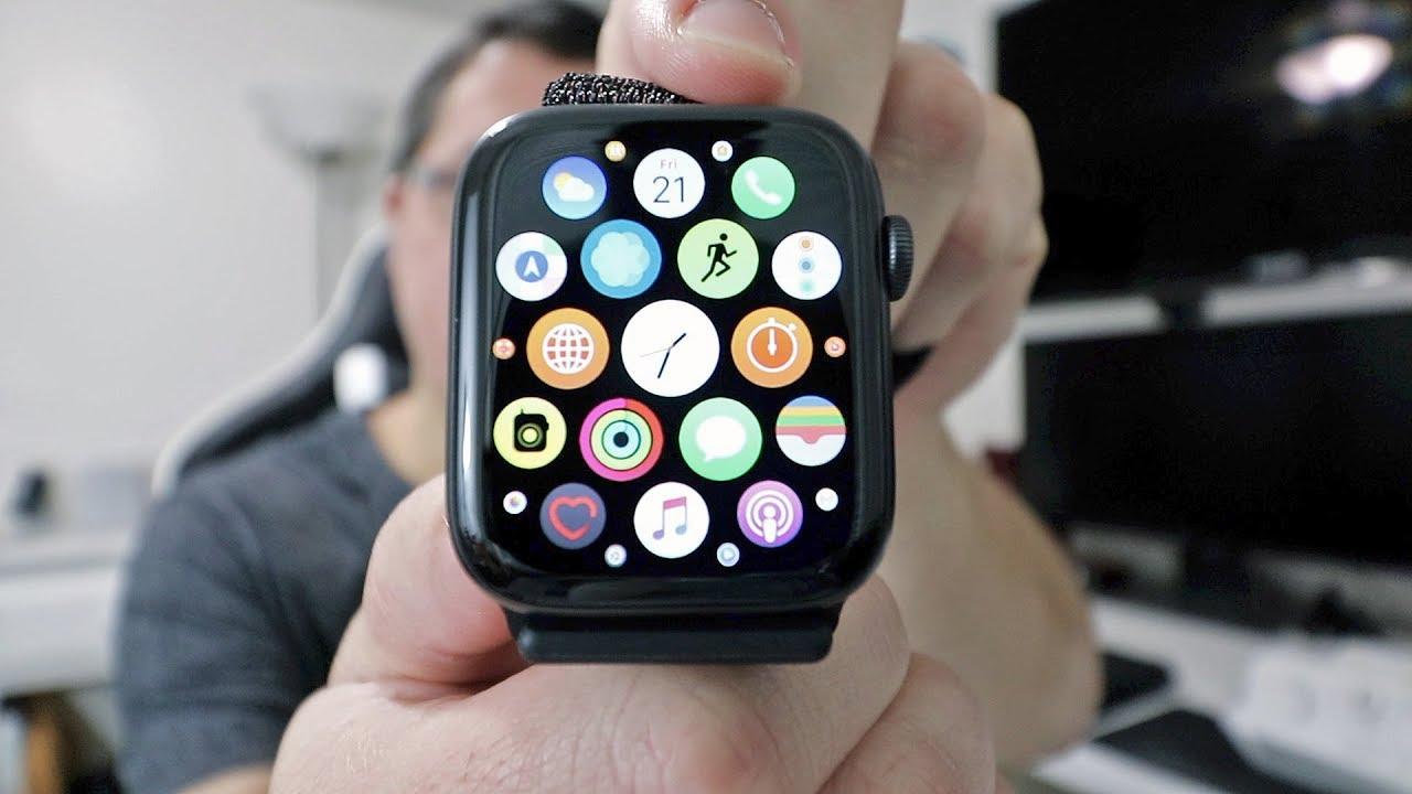 big sale 2dfbe 7115d Apple Watch Series 4 (Space Gray 44mm w/ Black Sport Loop) Unboxing
