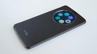 Обзор и unboxing чехла QuickCircle™ Case для LG G3