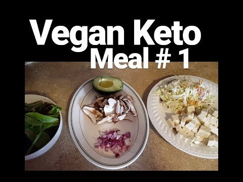 Vegan Keto Meal #1