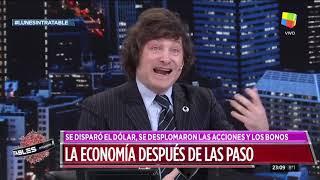 Javier Milei en Intratables (12/08/19)