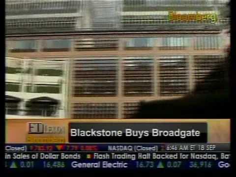 In-Depth Look - Blackstone Buys Broadgate - Bloomberg