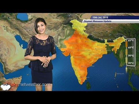10 July, 2015 Monsoon Updates   Skymet Weather