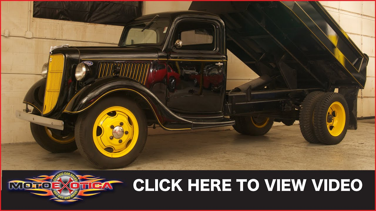 1936 Ford Dump Truck Sold Youtube