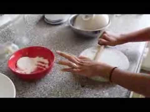How to Make Gluten Free Rice Flour Flatbread (Rice Flour Rotli)