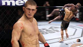 KHABIB NURMAGOMEDOV vs DILLON DANIS | EA Sports UFC 3