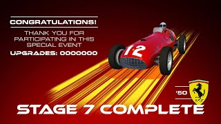 Real Racing 3 Master - Redline Origins Stage 7 Earning The Ferrari 375 F1 And 90 Gold