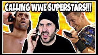 DAZE CALLS WWE WRESTLING SUPERSTARS & LEGENDS!!! Skit | Triple H, Shawn Michaels, Sheamus & Miz