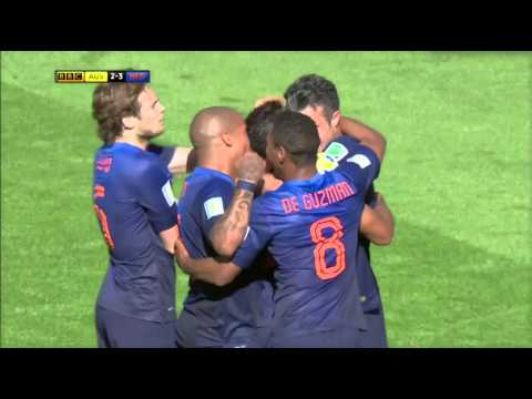 FIFA World Cup 2014 [HD] Netherlands 3-2 Australia
