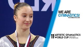 Doha 2018 Highlights Women - Artistic Gymnastics Individual Apparatus World Cup Series 2016-18
