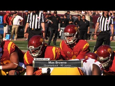 Max Browne and Sam Darnold Spring Game Highlights