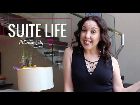 Go Inside the Tropicana Atlantic City North Tower Luxury Penthouse --Suite Life, Ep. 3