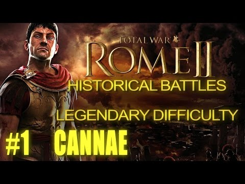 BATTLE OF CANNAE - Legendary Difficulty - Historical Battle for Rome 2