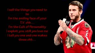 "WWE CM Punk New Theme Song 2013 ""Cult of Personality"" LYRICS"