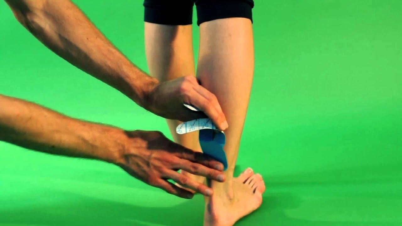 Кинексиб --- инструкция. Икроножная мышца - YouTube
