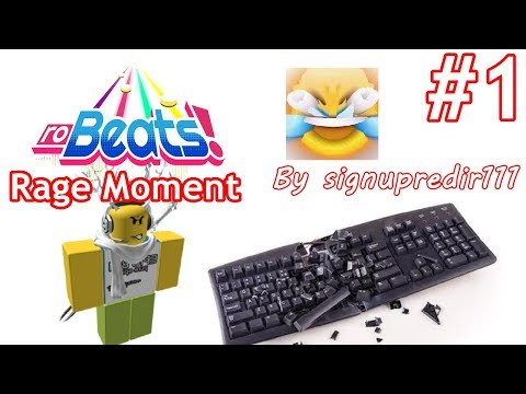 signupredir111 Rage Moment #1 (Roblox Robeats)