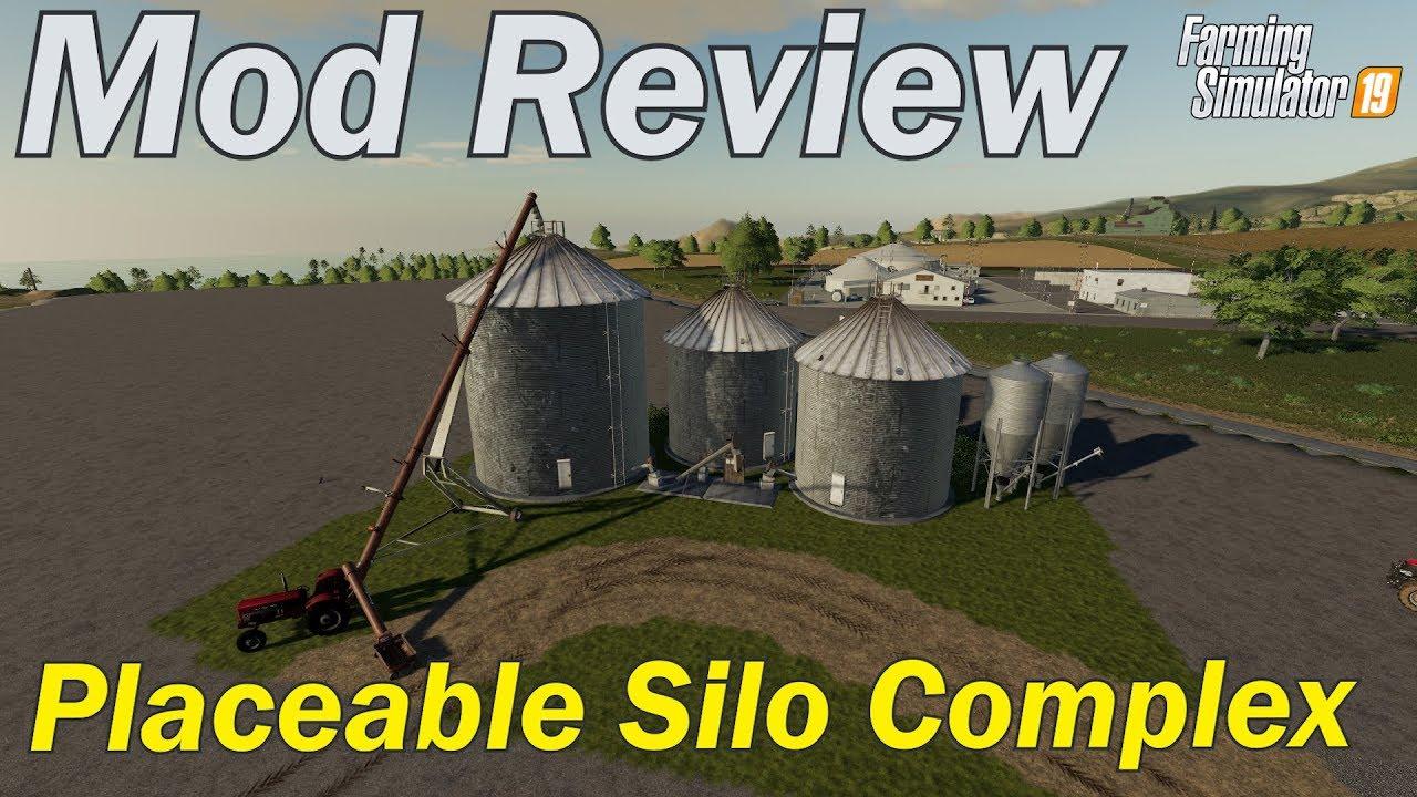 Mod Review - Large grain silo (placeable)