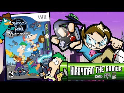 P&F: Across the 2nd Dimension (Wii) -  KTG  (REVIEW)