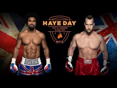 David Haye Mark De Mori