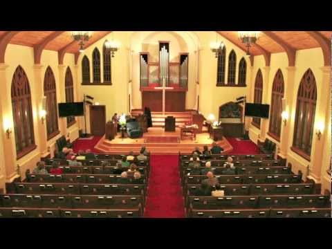 Audio Video Install In A Historic Church Youtube