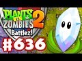 BATTLEZ! Magnifying Grass Strategy! - Plants vs. Zombies 2 - Gameplay Walkthrough Part 636