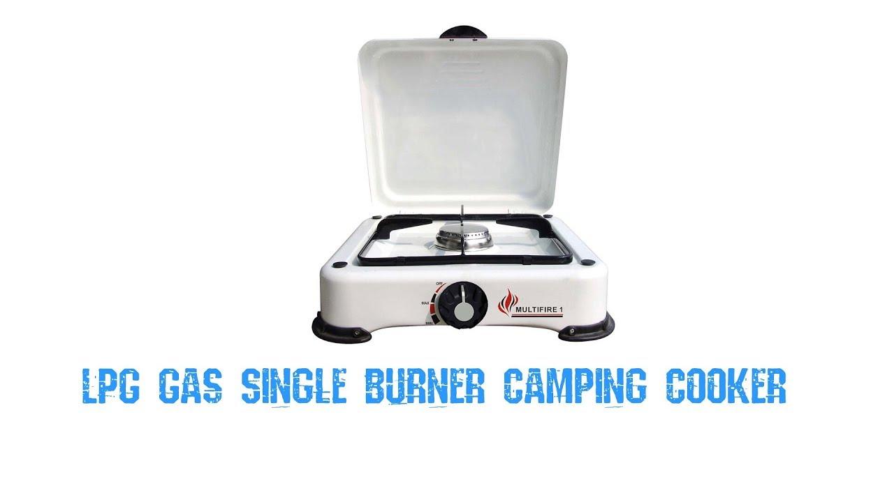 Multifire 1 Burner Camping Stove for Butane or Propane